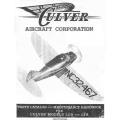 Culver LCA and LFA Parts Catalog & Maintenance Handbook $4.95
