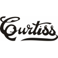 "Curtiss Aircraft Decal/Vinyl Sticker 12"" wide by 6 3/8"" high!"