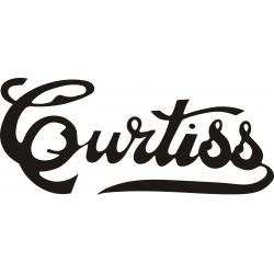 """Curtiss Aircraft Decal/Vinyl Sticker 12"""" wide by 6 3/8"""" high!"""