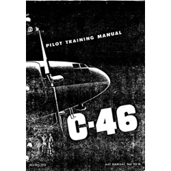 Curtiss C-46 Commando Pilot Training Manual $9.95
