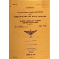 Curtiss Wright P-40D and P-40E Pursuit Airplanes Handbook of Operation and Flight Instructions $4.95