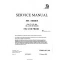Cessna Model 100 Series 150, 172, 175, 180, 182 & 185 1962 & Prior Rev. 2003 Service Manual D138-1-13 $19.95