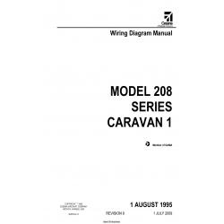 Cessna Model 208 Series Caravan 1 Wiring Diagram Manual ...