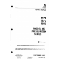 Cessna Model 337 Pressurized Series Service Manual (1973 thru 1980) D2516-9-13 $29.95