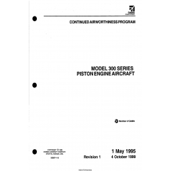 Cessna Model 300 Series CONTINUED AIRWORTHINESS PROGRAM Piston Engine Aircraft D5307-1-13