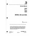 Cessna Model 340 and 340A (1972 thru 1984) Service Manual D930-29-13 $29.95