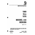 Cessna 150 Series (1969 THRU 1976) Service Manual D971-3TR6 $29.95