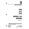 Cessna 150 Series (1969 THRU 1976) Service Manual D971-3-13 $29.95