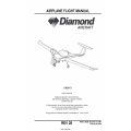 Diamond DA20-C1 Airplane Flight Manual/POH DA202-C1 $19.95