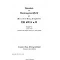 DB 601 A u. B Mercedez Benz Flugmotor Betriebs und Bartungsvorschrift $9.95