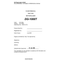 DG-1000T Motorglider Flight Manual/POH 2005 - 2006