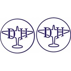 De Havilland Aircraft Decal,Stickers!