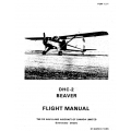 DHC-2 Beaver De Havilland Flight Manual/POH $9.95