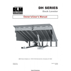DLM DH Series Dock Leveler Owner's and User's Manual 2003 - 2009