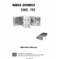 Narco DME 195 Operation Manual $9.95
