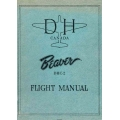 De Havilland Canada Beaver DHC-2 Flight Manual/POH 1956 - 1962 PSM-1-2-1 $9.95