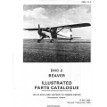 De Havilland DHC-2 Beaver Illustrated Parts Catalog 1963 - 1964 $13.95