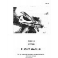 De Havilland DHC-3 Otter Flight Manual/POH 1966 $5.95