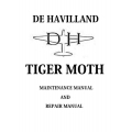 De Havilland Tiger Moth Maintenance and Repair Manual $5.95
