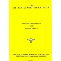 De Havilland Tiger Moth Maintenance and Repair Manual 1947 $5.95