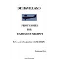 De Havilland Tiger Moth Pilot's Notes 1944 $4.95