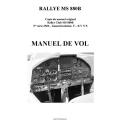 De L'Avion Rallye Club MS 880B Manuel de Vol POH $4.95