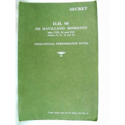 De Havilland Mosquito Operational Performance Notes $2.95