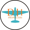 De Havilland Aircraft Propeller Logo,Decals!