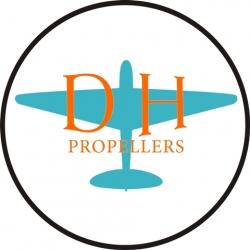 De Havilland Aircraft Propeller Logo,Decals!