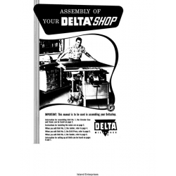 Delta Table Saw Assembly Manual