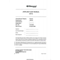 Diamond DA 42 Twin Star Airplane Flight Manual/POH 2004 - 2005 $13.95