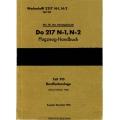 Dornier Do 217 N-1, N-2 Teil 9D Flugzeug-Handbuch $4.95