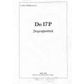 Dornier Do 17P Flugzeughandbuch $9.95