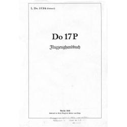 Dornier Do 17P Flugzeughandbuch
