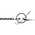 "Douglas Decals/Stickers! 2.95"" high by 7.5"" wide!"