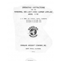 Douglas C-53 Operating Instruction for the Personnel and Light Cargo Carrier Airplane 1942