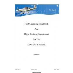 Dova DV-1 Skylark Pilot Operating Handbook 2006