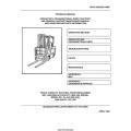Drexel SL-44-3-ESS-EE, MHE 256 Forklift TM 10-3930-652-14&P Operator's & Maintenance Manual 1984 $9.95