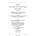 Dyke's Automobile and Gasoline Engine Encyclopedia $4.95