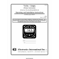 EI VA-1A, VA-1A-XX and RSVA-3 Volts/Amps Primary Instruments Operating and Installation Instructions 1992 $4.95
