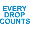 Every Drop Counts! Sticker/Decals!