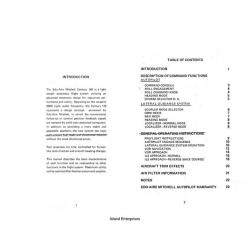 Edo-Aire Mitchell Century IIB Auto Pilot Manual $4.95