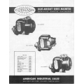 Eisemann Magnetos Service Parts Catalog $2.95
