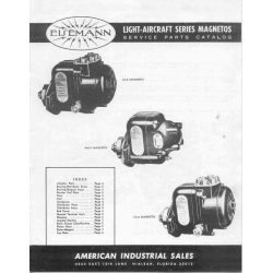 Eisemann Magnetos Service Parts Catalog