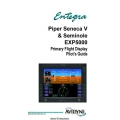 Entegra Piper Seneca V and Seminole EXP500 Primary Flight Dispaly Pilot's Guide 2005 $5.95