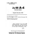 Exerzier-Karte Ju 88 A-4 $2.95