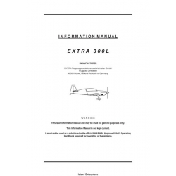 Extra 300L Information Manual 2002 $5.95