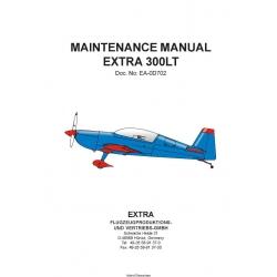 Extra 300LT Maintenance Manual 2010 $9.95