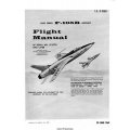 Republic F-105B Thunderchief USAF Series Aircraft Flight Manual/POH 1969 $5.95