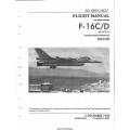Lockheed Martin Aeronautics F-16C/D Fighting Falcon Block 50 Haf Series Aircraft T.O. Grif-16CJ-1 Flight Manual 1996 - 2001 $13.95